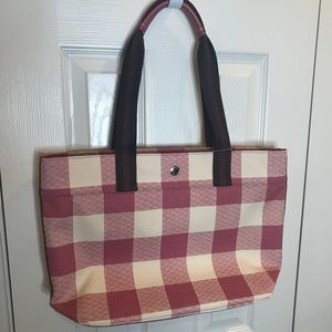 NWT Coach bag pink plaid